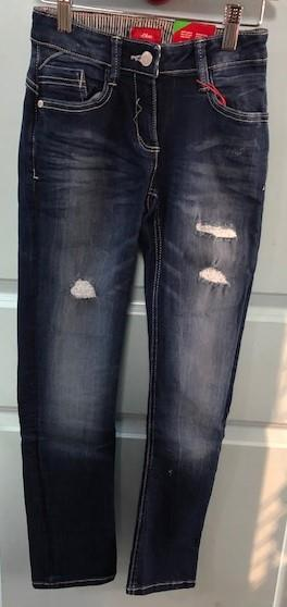 S. Oliver Ripped Regular Fit Jeans