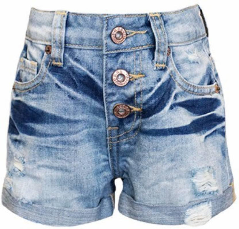 Hannah Banana High Waisted Denim Short