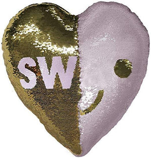 iScream Swak/Love Sequin Pillow