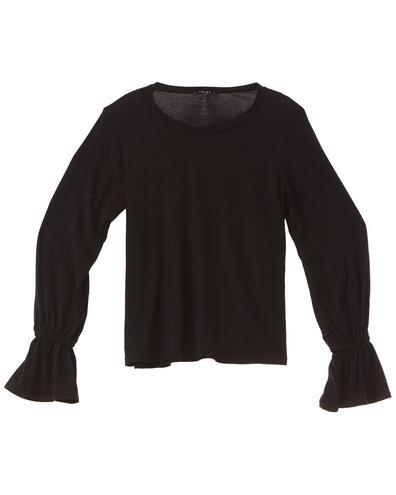 Terez Long Sleeve Flare Top