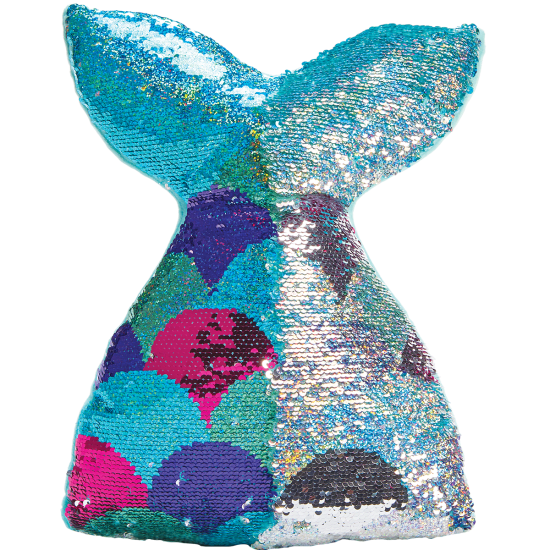 iScream Mermazing Reversible Sequin Pillow