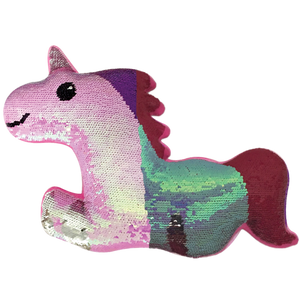 iScream Magical Unicorn Reversible Sequin Pillow