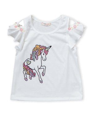 Baby Sara Unicorn Top