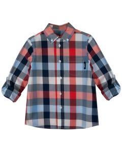 MEXX Kids Collared Plaid Shirt