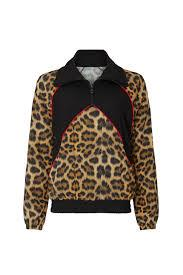 Terez Women's Leopard Windbreaker