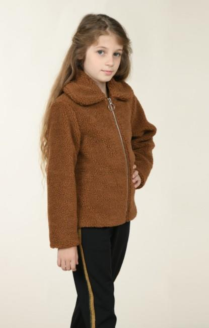 Mini Molly Shearling Faux Fur Jacket