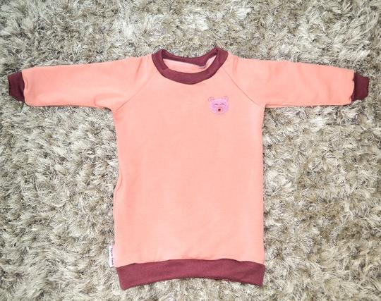 Omo Mobi Beary Pink Sweater Dress