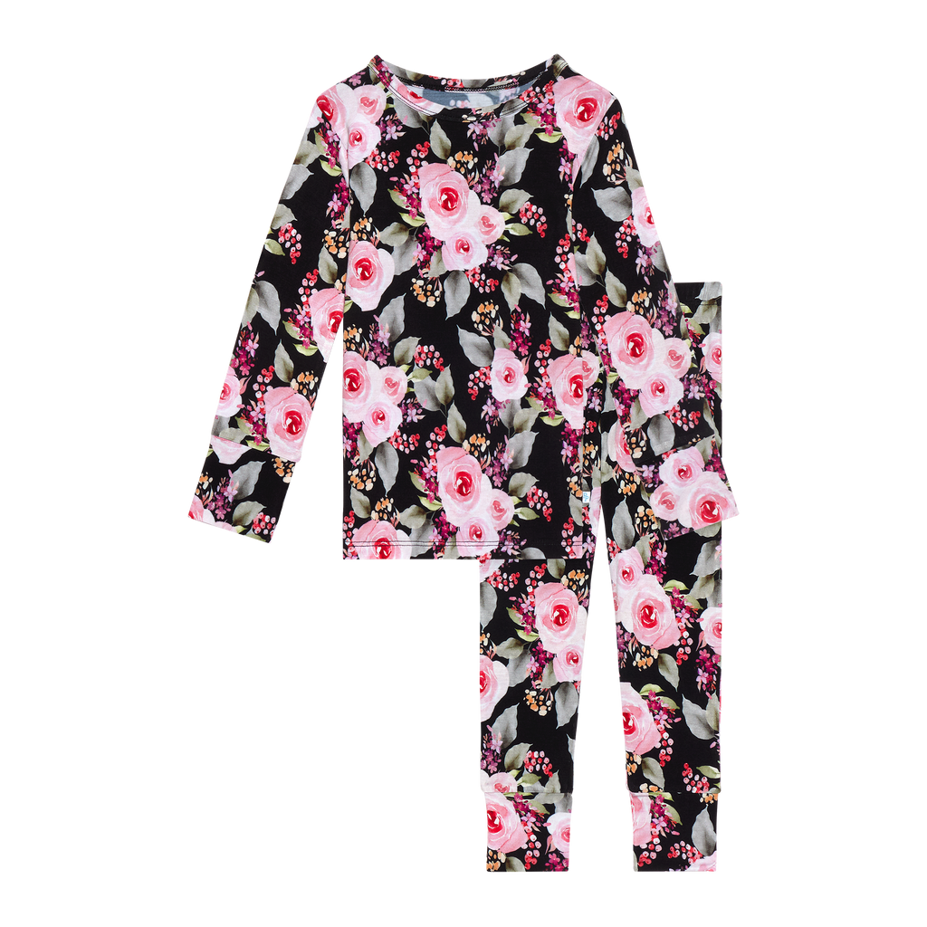 Posh Peanut Milana Long Sleeve/Pant PJ Set