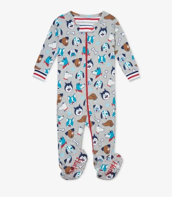 Hatley Organic Cotton Footed Coverall