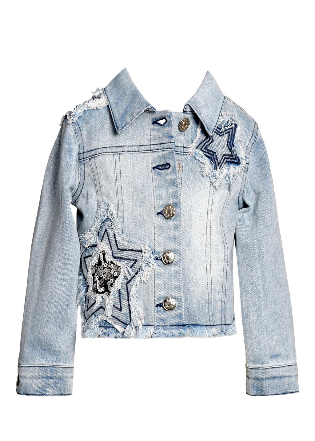Baby Sara Star Denim Jacket