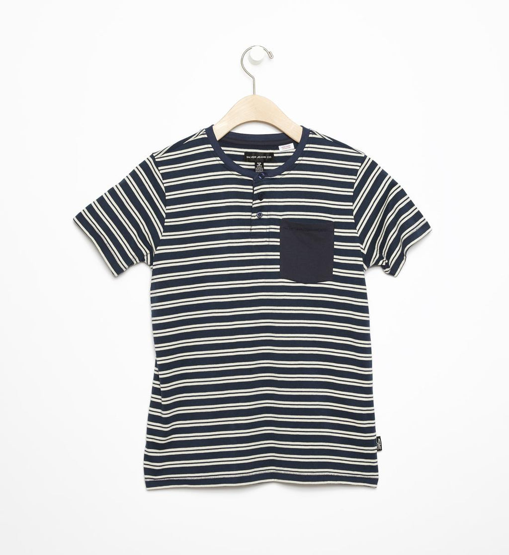 Silver Jeans Striped T-Shirt
