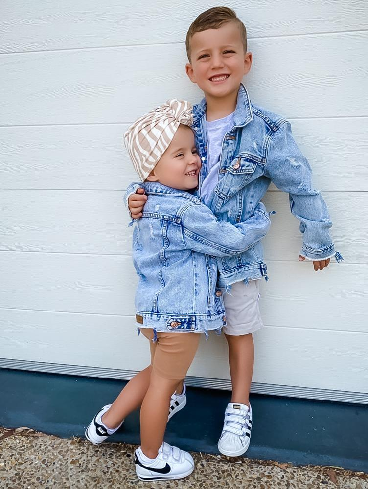 Beau Hudson Kids Distressed Denim Jacket