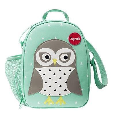 3 Sprouts Owl Lunch Bag