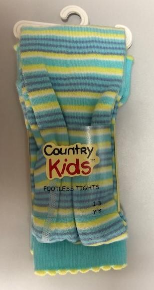 Country Kids Stripes Footless Tights