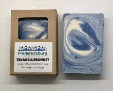 Load image into Gallery viewer, Texas Bluebonnet Bar Soap in Kraft Box
