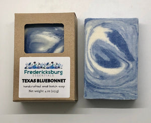 Texas Bluebonnet Bar Soap in Kraft Box