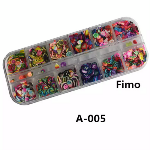 12 Grid Fimo Shapes