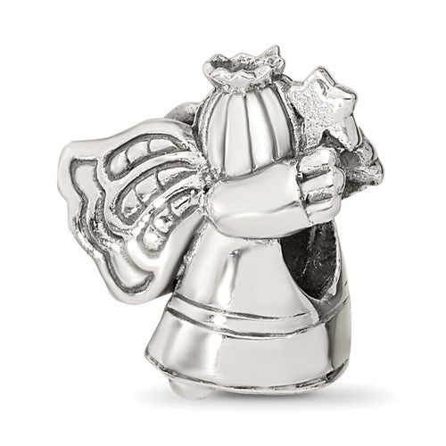 Sterling Silver Christmas Angel Bead