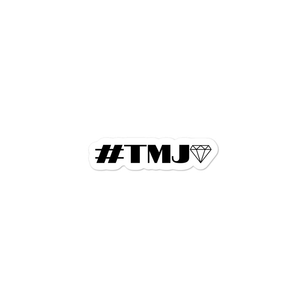 #TMJ Bubble-free stickers