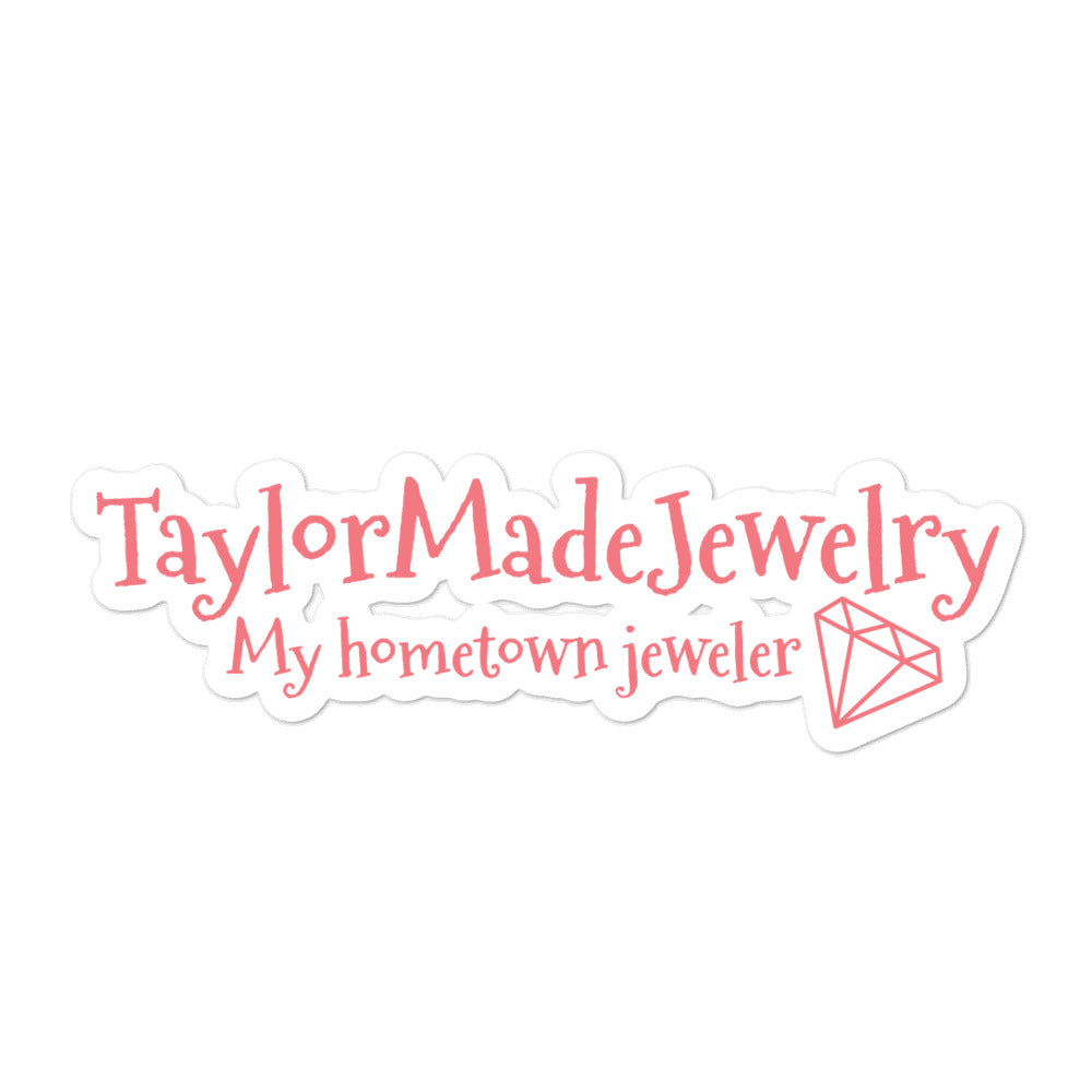 My Hometown Jeweler Bubble-free stickers