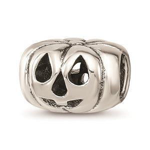 Sterling Silver Reflections Jack O Lantern Bead