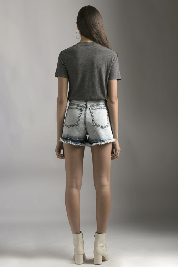GREY EMBELLISHED TSHIRT - MellowDrama