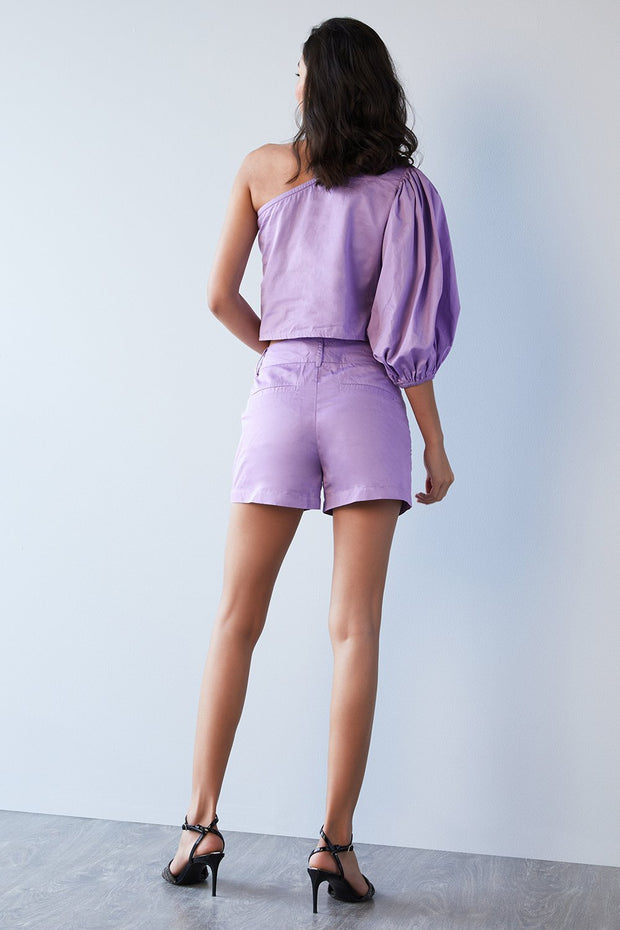 LILAC EMBELLISHED TOP - MellowDrama