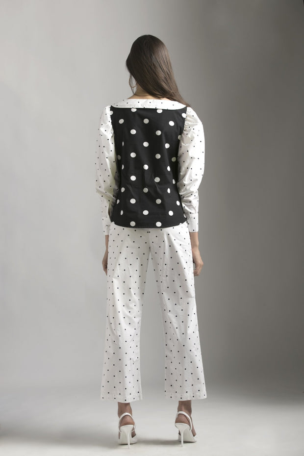 MIX & MATCH POLKA DOT SHIRT - MellowDrama