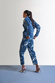 PAINT SPLASH DENIM PANTS - MellowDrama