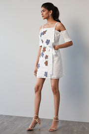 SCHIFFLI FLORAL DRESS - MellowDrama