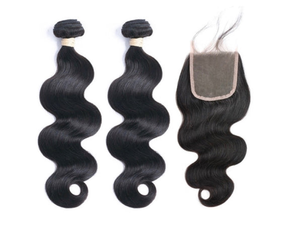 2 Bundles & Closure - Body Wave