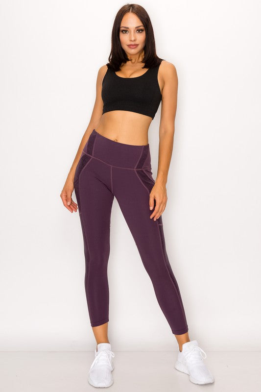Purple Be You Legging