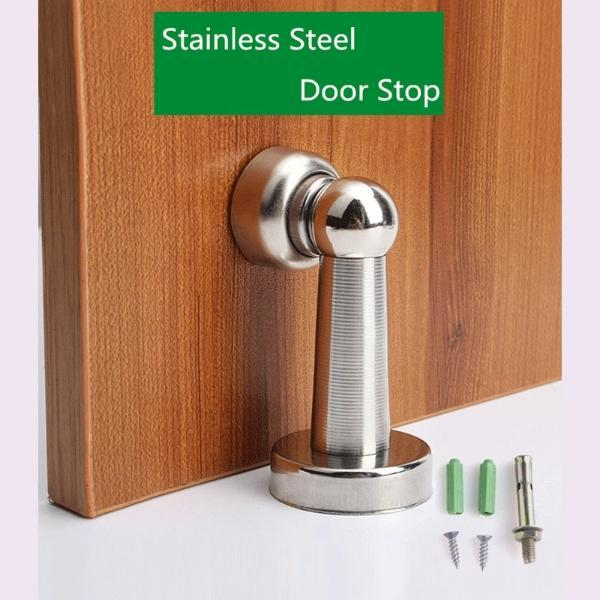 Silver Stainless Steel Door Stopper