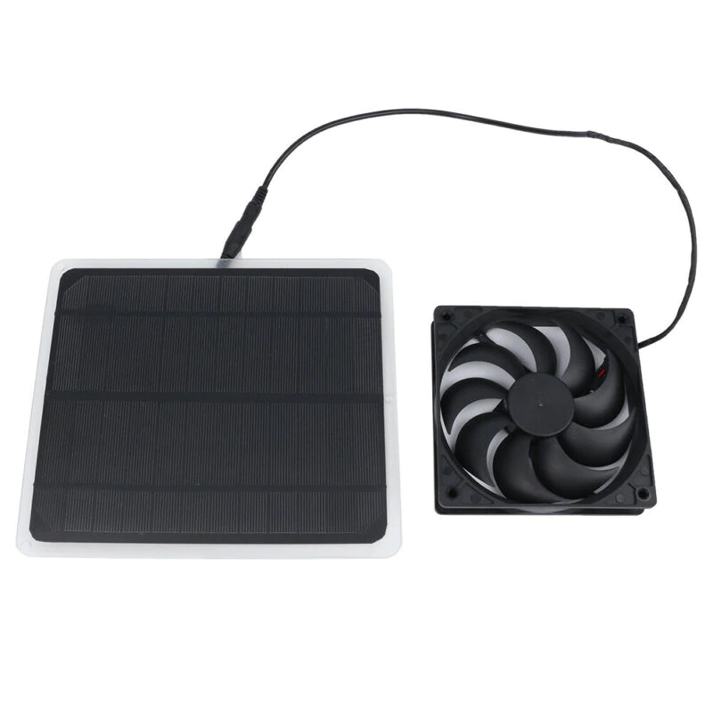 10W Solar Powered USB Mini Ventilator