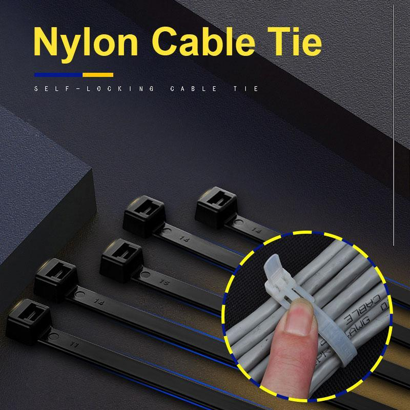 Nylon Cable Tie(100PCS)