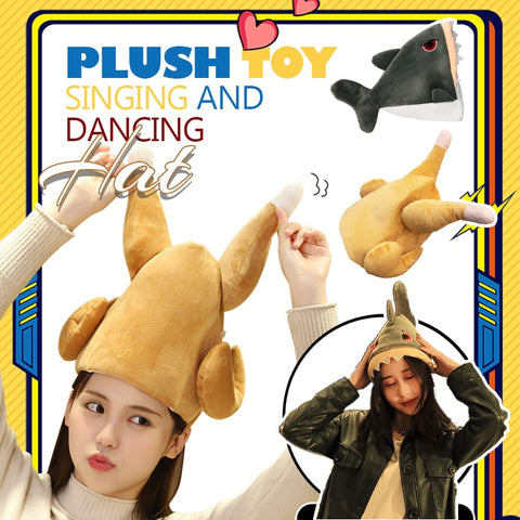 Plush Toy Singing And Dancing Hat
