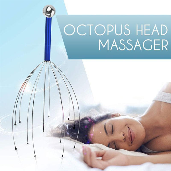 Octopus Head Massager(Random Color)