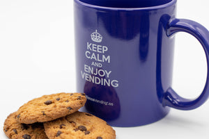 Keep Calm - Taza Retro Alliance Vending