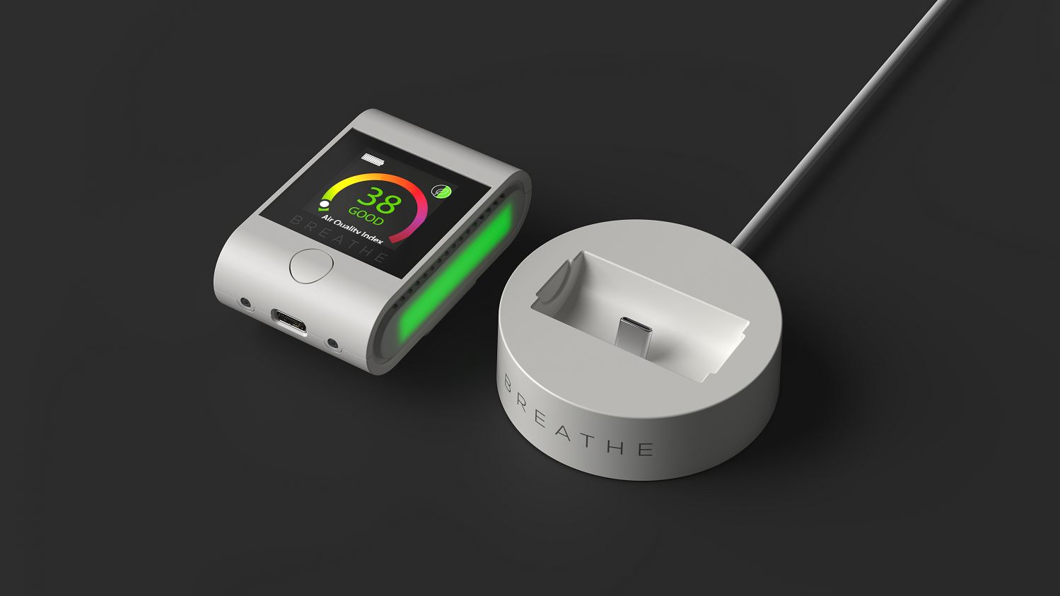 BREATHE|Smart air quality monitor