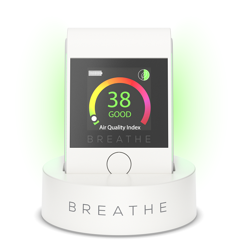 BREATHE|Smart 2 Monitor da qualidade do ar