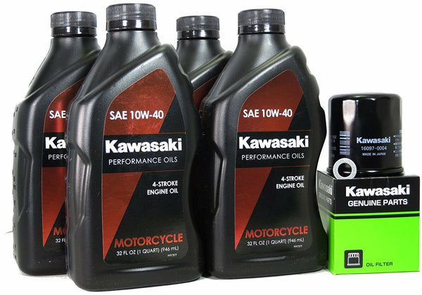 03-20 KAWASAKI NINJA ZX-6R OE Oil Change Kit