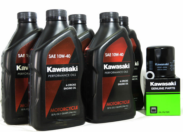 2008-2020 Kawasaki Concours 14 ZG1400 OIL CHANGE KIT COMPLETE