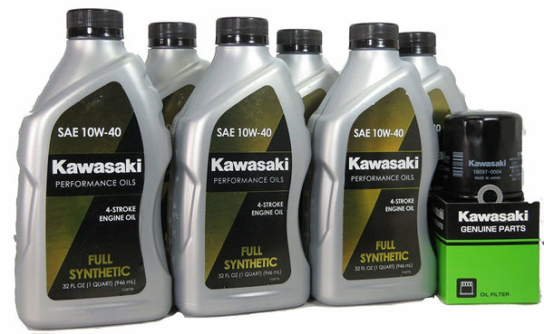 09-20 Kawasaki VULCAN 1700 VOYAGER Full Synthetic Oil Change Kit