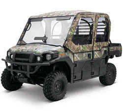 KAWASAKI KAF080-046 Soft Cab Enclosure, Roof and Back, Realtree® Xtra® Green