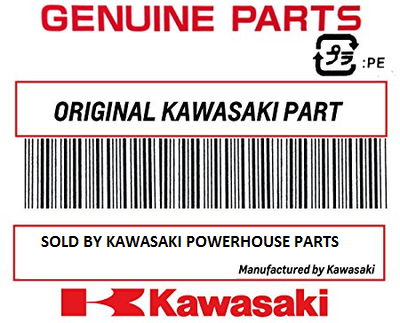 Kawasaki 92161-0656 Wind shield damper