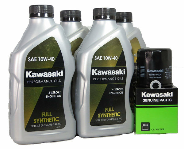 04-15 KAWASAKI NINJA ZX-10R Full Synthetic Oil Change Kit