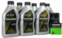 04 -10 Kawasaki VULCAN 2000 VN2000 SYNTHETIC Oil Change Kit