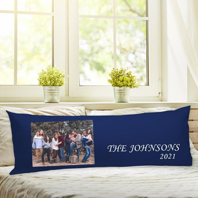 Family Photo Body Pillow Case of Your Photo | Create Your Own Personalized Photo Pillow