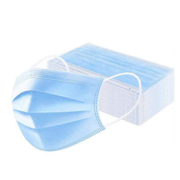50- Pack of Disposable Face Masks