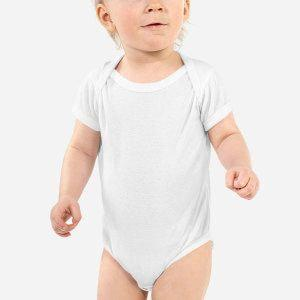 Create your own design Infant Baby Rib Bodysuit